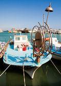 Fishing boats in port. Cyprus. Aja-napa — Stock Photo