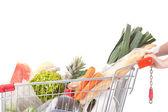 Supermarkt auto — Stockfoto