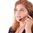 Telephone Operator — Stock Photo #13585026