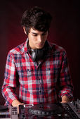 DJ - man — Stock Photo