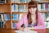 Studying woman — Stock Photo