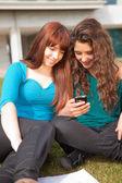 Meisjes is ontspannend — Stockfoto