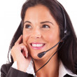 Telephone Operator — Stock Photo