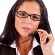 Stock Photo: Telephone Operator