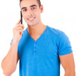 Man at the phone — Stock Photo #20807875