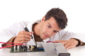 Computer engineer — Stock Photo