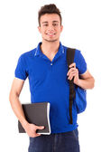 Young happy student — Stock Photo