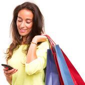 Concetto dello shopping — Foto Stock
