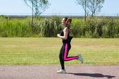 Concetto di fitness — Foto Stock
