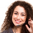Telephone operator — Stockfoto