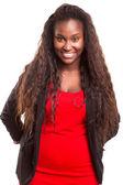 Африканская женщина — Стоковое фото