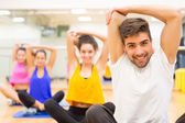 People at the gym — Stock Photo