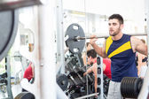 Man at the gym — Foto Stock