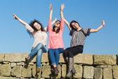 Gelukkig vrouwen — Stockfoto
