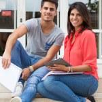 Couple of Students — Stock Photo #51538267