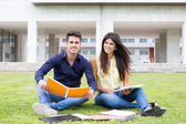 Couple of Students — Stockfoto