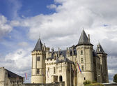 Saumur castle — Stock Photo