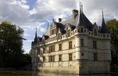 Pałac azay-le-rideau, w dolinie loary, francja — Zdjęcie stockowe