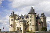 Saumur castle — Stock Photo