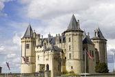 Castelo de saumur — Foto Stock