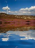 Mulino a vento — Foto Stock