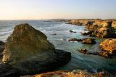 Portekiz güney sahil kayalar — Stok fotoğraf