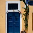 Greek house - Stock Photo