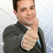 Thumb up — Stock Photo