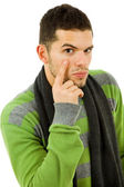 Picture of a young man — Stock Photo