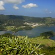 Seven lake city at the azores island of sao miguel, portugal — Stock Photo #23678053