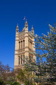 London: Parliament building at the Westminster city — Stock Photo