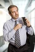 Hombre de negocios maduros pensativo — Foto de Stock