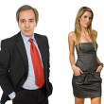Business couple portrait — Stock Photo #23683869