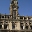 Oporto, Town Hall at Avenida dos Aliados. In the north of Portugal — Stock Photo
