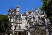 Quinta da Regaleira Palace in Sintra, Lisbon, Portugal — Stock Photo
