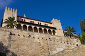 Part of Mallorca cathedral, in Palma de Mallorca, Spain — Stock Photo