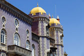 Detail of Pena palace, in the village of Sintra, Lisbon, Portugal — Stock Photo