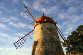 Azores ancient windmill — Stock Photo