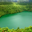 Lake of fire in sao miguel island, azores — Stock Photo #23750661