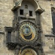 Famous prague clock — Stock Photo