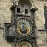 Famous prague clock — Stock Photo