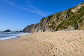 Beautiful beach of adraga, the south of portugal — Stock Photo