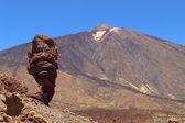 El teide 在特内里费岛的山 — 图库照片