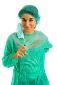 Young woman nurse — Stock Photo