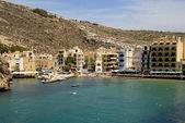 Small village in Malta at gozo island — Stock Photo