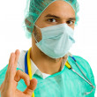 Young male doctor — Stock Photo