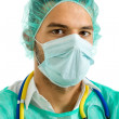 Stock Photo: Young male doctor