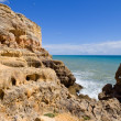 Rocky coast of algarve — Stock Photo #23798427