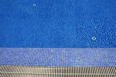Swimming pool blue water — Stock Photo