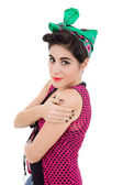 Pin up fille — Photo